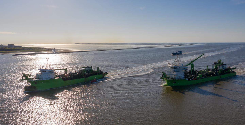 Deme se adjudica el contrato de dragado y recuperación de tierras más grande de su historia