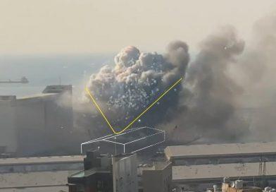 Video: Realizan reconstrucción en 3D de la explosión del Puerto de Beirut