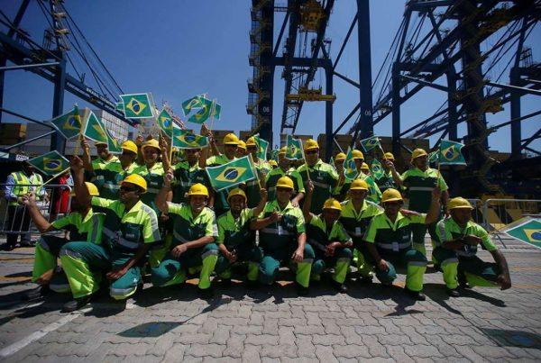 Brasil: Puerto de Santos invierte en obras de desestatización - PortalPortuario