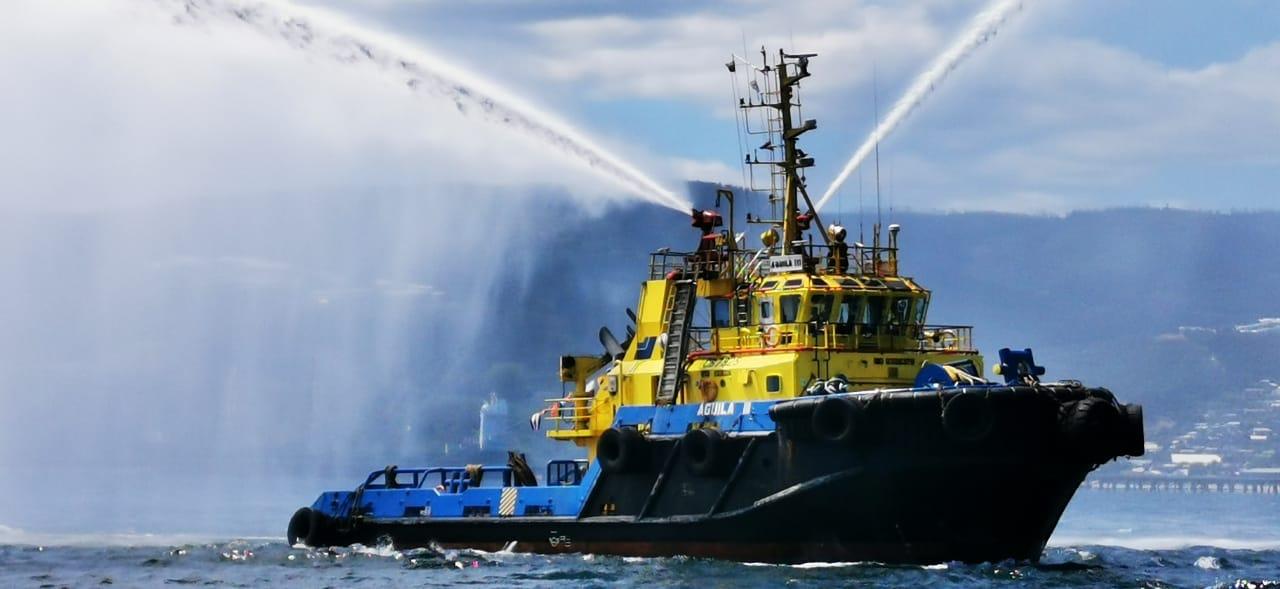 SAAM Towage recibe sellos de Cuantificación y Reducción de Huella Chile