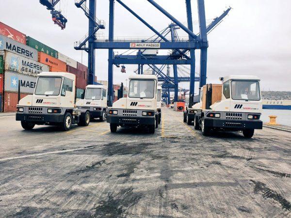 STI recibe nuevos tracto terminals Kalmar Ottawa T2