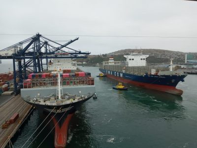 Transferencia de TEU en el Puerto de San Antonio presenta flujo positivo -  PortalPortuario