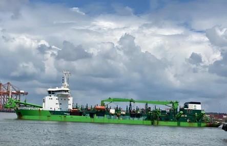 Colombia: Avanza dragado de las franjas operativas de la Sociedad Portuaria Regional de Buenaventura
