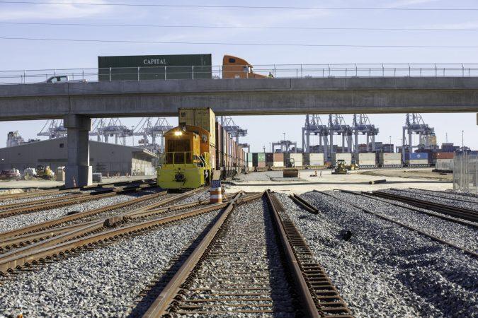 Proyecto Mason Mega Rail de la Autoridad de Puertos de Georgia alcanza 75% de avance