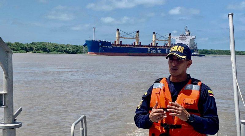 Colombia: Dimar anuncia nuevas condiciones para la navegación en el canal  de acceso al Puerto de Barranquilla - PortalPortuario