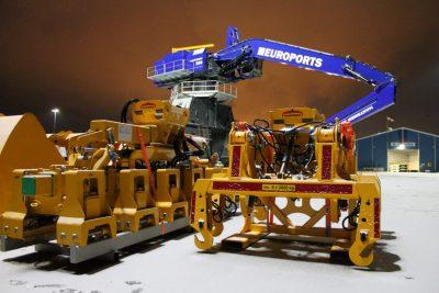 Euroports encarga nueva grúa hidráulica portuaria - PortalPortuario