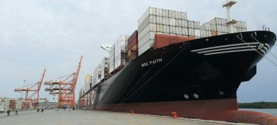 MSC Faith arriba a Contecon Guayaquil