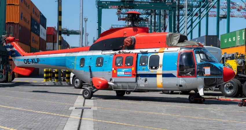 Helicóptero Puerto San Antonio (2)
