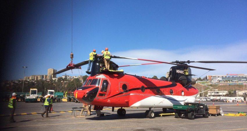 Helicóptero Puerto San Antonio (4)