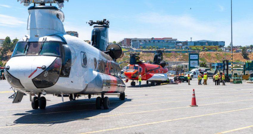 Helicóptero Puerto San Antonio (6)