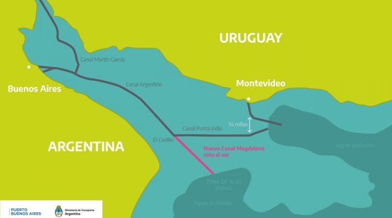 Resultado de imagen de Argentina: Conforman comisión que estará a cargo del proyecto del Canal Magdalena