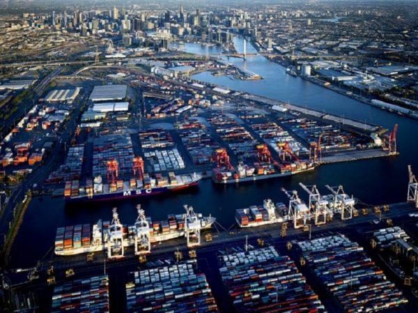 Puerto de Melbourne entrega instalación a Qube para aliviar la congestión de contenedores