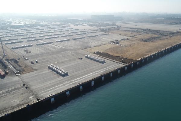 Entrega de muelle permite a Puerto de Taichung impulsar desarrollo de parques eólicos marinos