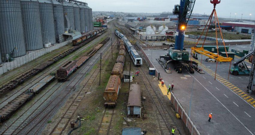 Traslado trenes San Antonio (1)