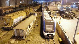 Galería: Revisa las maniobras para el traslado de los nuevo trenes de EFE en San Antonio