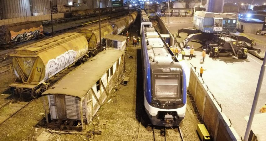 Traslado trenes San Antonio (2)