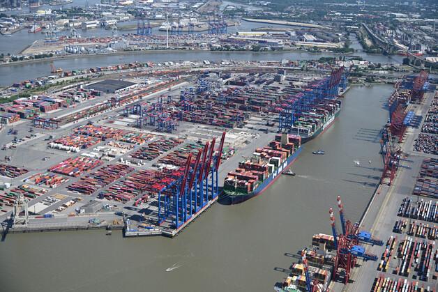Pandemia de Covid-19 afecta el rendimiento del Puerto de Hamburgo en 2020