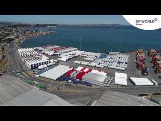 Video: DP World Lirquen muestra sus capacidades para descarga de aerogeneradores