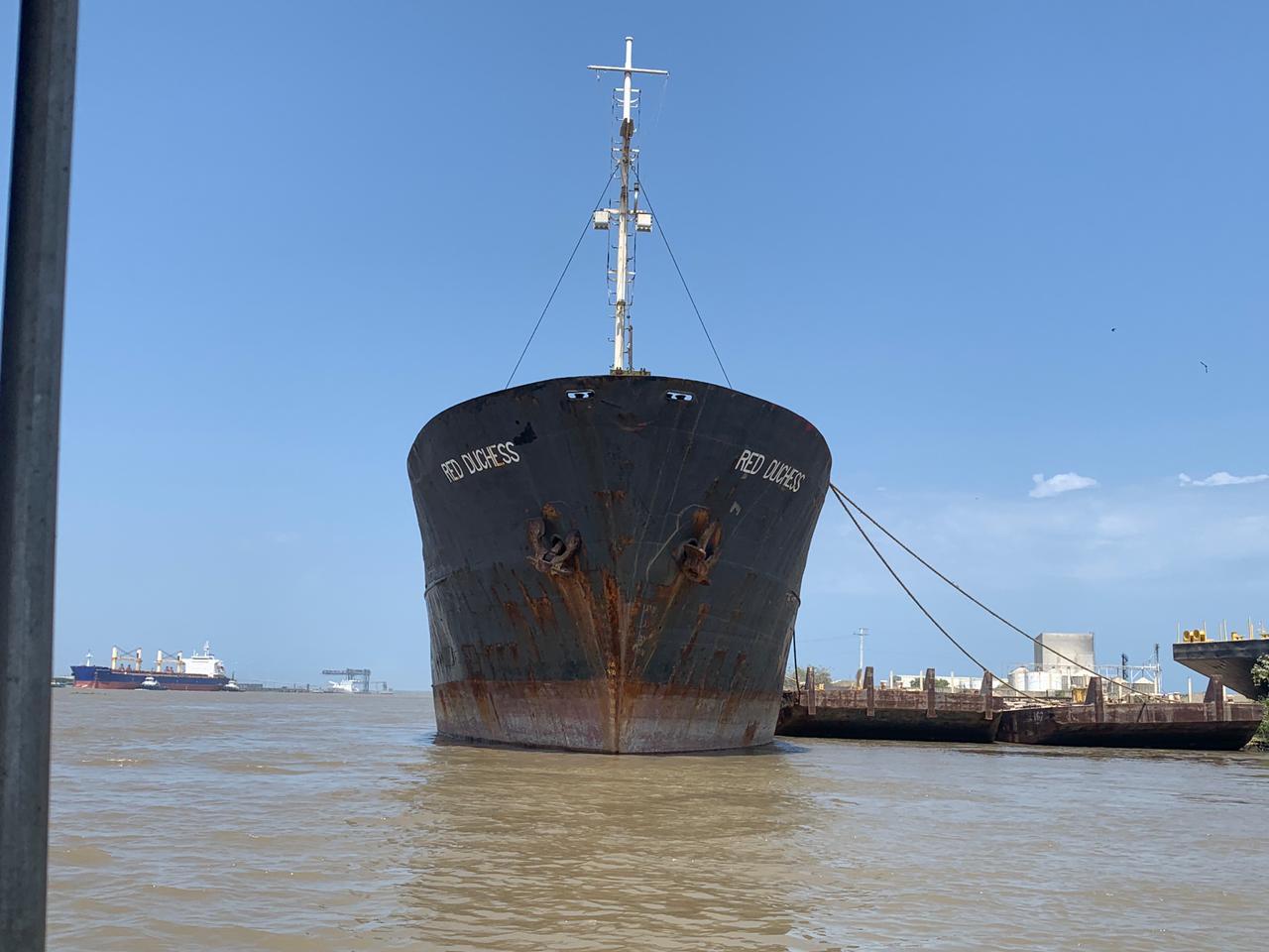 Autoridad Marítima de Colombia niega zarpe desde Barranquilla a nave de bandera de Djibouti