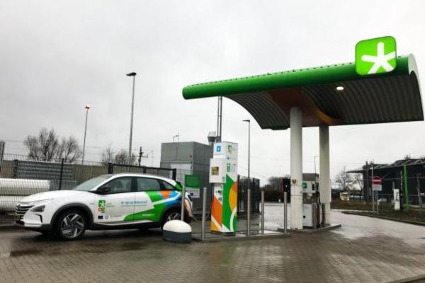 Puerto de Amsterdam abre su primera estación de servicio de hidrógeno