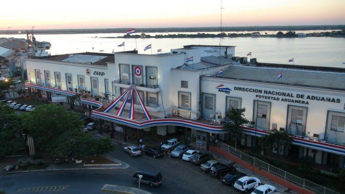 Recaudación aduanera sube 16,3% en Paraguay