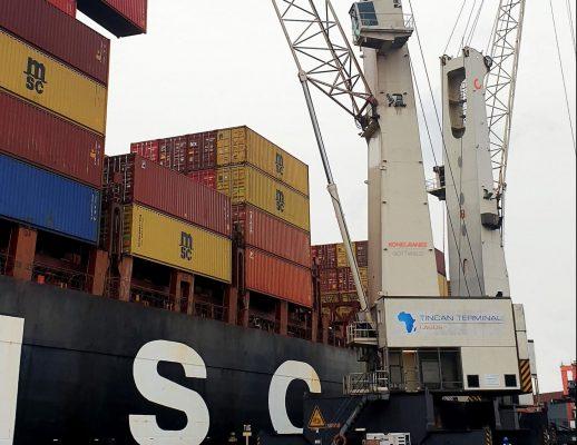 Konecranes vende dos grúas móviles al Tincan Island Container Terminal de Nigeria