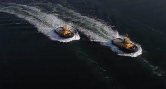 Video: La danza de dos remolcadores de SAAM Towage en Turquía