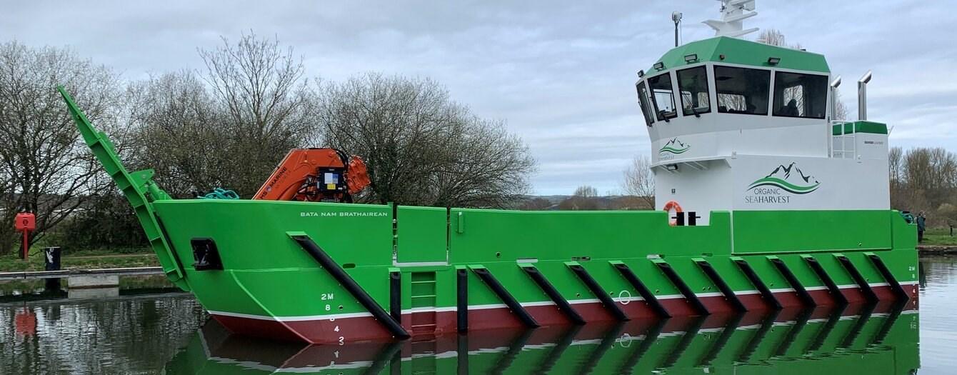 Damen entrega nuevo buque de apoyo para acuicultura
