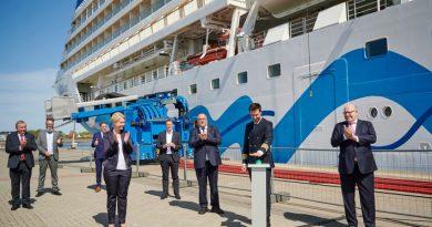AIDA Cruises inaugura planta de energía costera más grande de Europa
