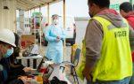 Puerto San Antonio y organismos públicos realizan exámenes PCR gratuitos a transportistas en el Nodo Logístico