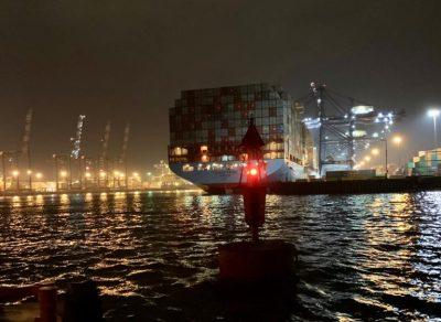 Galería: Alta demanda registra el Puerto de San Antonio por llegada de buques