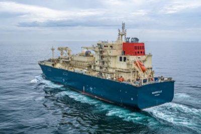 Video: Pruebas de mar del primer buque de bunkering de GNL en Francia