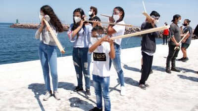 Empresa Portuaria Antofagasta respalda a bienal de artes