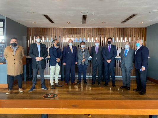 Puerto de Antofagasta recibe visita de Embajador de Paraguay en Chile