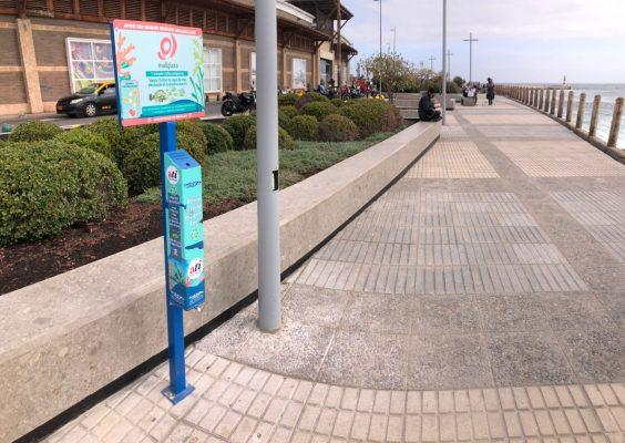 ATI y MallPlaza lanzan campaña ambiental con instalación de colilleros en terrazas del centro comercial