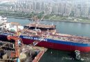Dalian Shipbuilding realiza pruebas de mar con primer petrolero VLCC propulsado por GNL