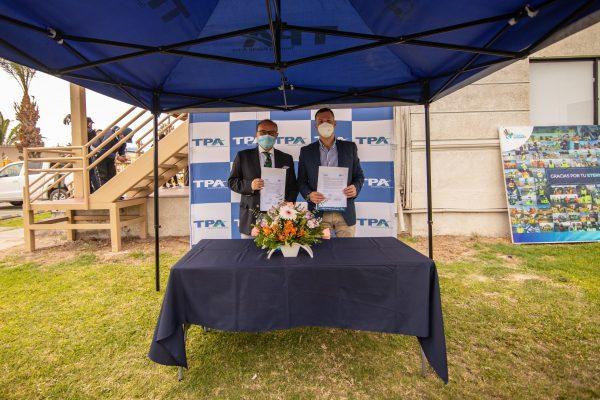 Terminal Puerto Arica firma Carta de Intención con la Universidad de Tarapacá