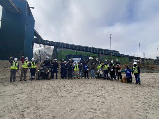 Puerto Ventanas participa del Día Internacional de Limpieza de playas
