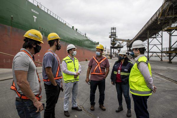 Representantes do Porto de Imbituba fazem visita técnica ao Porto de Paranaguá