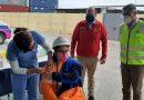 Trabajadores del Puerto de Arica  reciben dosis de refuerzo de vacuna Covid-19