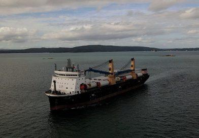 Video: Así es el nuevo buque de carga pesada de NYK
