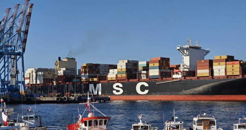 MSC Virgo en TPS VALPARAISO CHILE (5)
