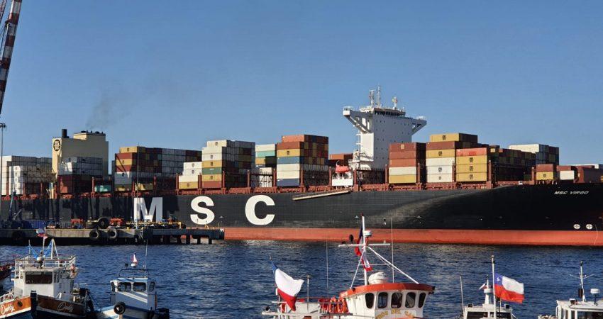 MSC Virgo en TPS VALPARAISO CHILE (6)