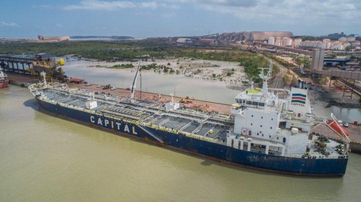 Porto do Itaqui alcança nova marca histórica com 25,4 milhões de toneladas movimentadas em 2021