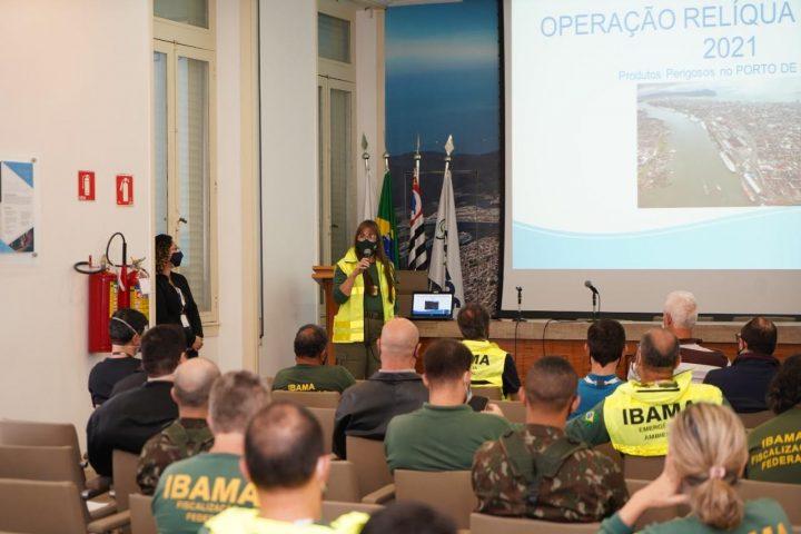 SPA recebe o encerramento da Operação Relíqua no Porto de Santos